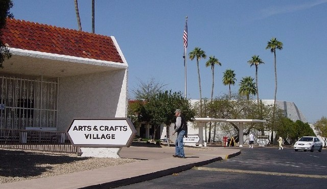 Arts and crafts center in Sun City Arizona