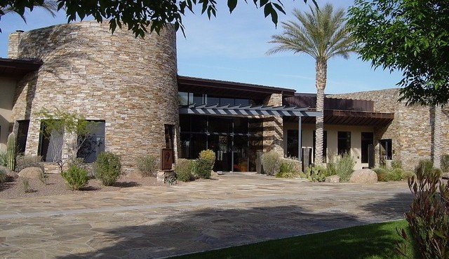 Clubhouse view at Trilogy at Vistancia in Peoria Arizona
