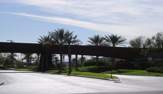 Entry and gofl cart crossing for trilogy at Vistancia in Peoria Arizona