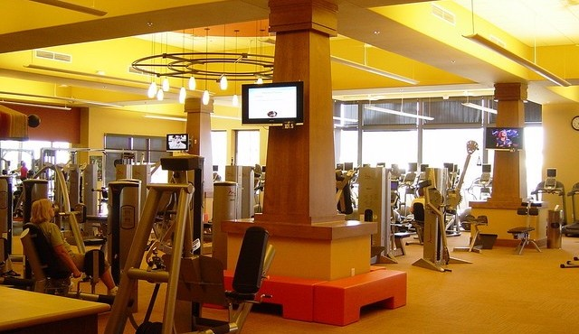 Fitness and excercise center at Sun City Festival in Buckeye Arizona