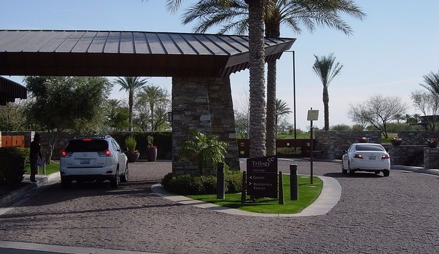 Gated guard house for Trilogy at Vistancia in Peoria Arizona