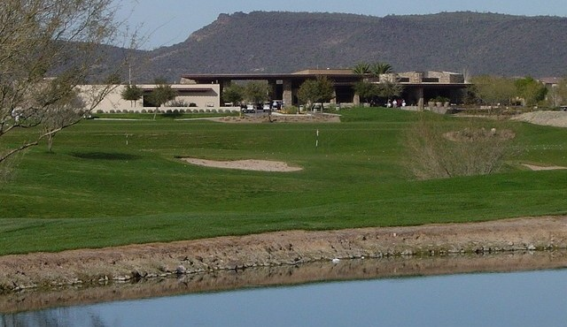 Golf and mountain views from Trilogy at Vistancia in Peoria Arizona