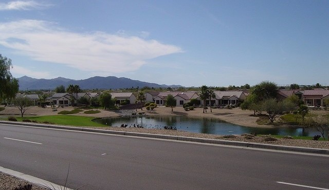 Golf and views at Sun City Grand in Surprise Arizona
