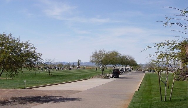 Golf range at Copper Canyon in Sun City Festival