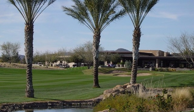 Golf shop and Verde Grill at Trilogy at Vistancia in Peoria Arizona