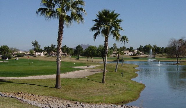 Golfing at its best in Westbrook Village in Peoria Arizona
