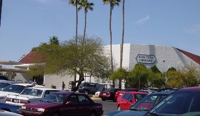 Library and Visitor center in Sun City Arizona
