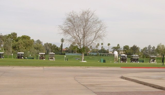 One of the golf ranges in Sun City West Arizona
