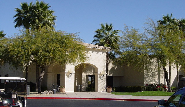 One of two clubhouses in Westbrook Village in Peoria Arizona