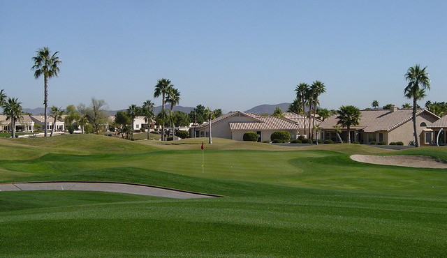 One of two golf courses in Westbrook Village in Peoria Arizona