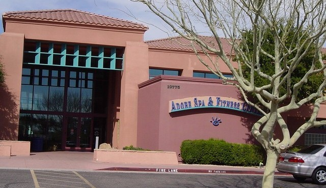 Pool and spa at Sun City Grand in Surprise Arizona