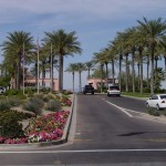 South entry to Sun City Grand in Surprise Arizona