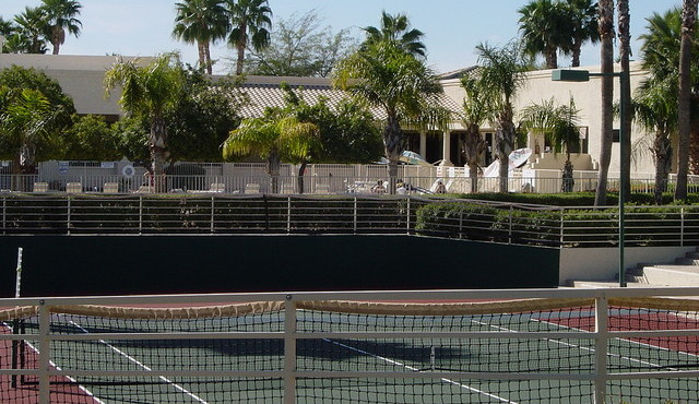 Tennis and Pickelball courts in Westbrook Village in Peoria Arizona