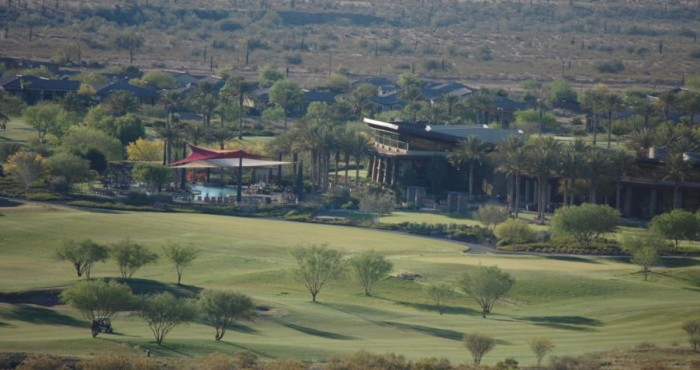 kiva club from above at Trilogy at Vistancia in Peoria Arizona