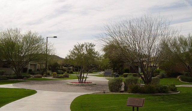 sales center and models at Trilogy at Vistancia in Peoria Arizona